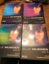 caroline quentin  BLUE MURDER set 1 2 3 4       DVD LOT