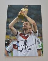 Per Mertesacker Signed 12x8 Photo Genuine Germany Autograph Memorabilia + COA