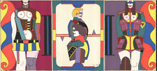 Richard Lindner-Changing Sexuality (Triptych)-1973 Serigraph-SIGNED