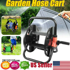 Portable Garden Water tube Hose Reel Cart Outdoor Plant Holder Storage Organizer