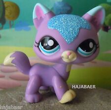 ✿LITTLEST PET SHOP ✿ KATZE CAT CHAT MAINE COON /2 #2386 ✿SPARKLE GLITZER✿RAR NEU
