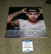 KANE BROWN Signed KANE BROWN 12X12 ALBUM PHOTO BECKETT CERTIFIED G30732