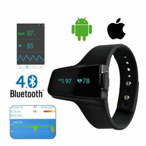 Wellue Heart Rate Breathing Sleep Monitor Apnea Smart Watch Oximeter Monitoring