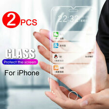 Tempered Glass For iPhone SE 2020 11 Pro Max XR XS 8 Screen Protector Film Cover
