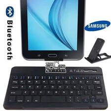 "For 7"" 8"" Samsung Galaxy Tablet Slim Wireless Bluetooth Keyboard + Stand Holder"