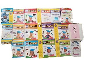 Your baby can read DVD's and books  starter to review complete set. Age 1-2 year
