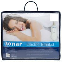 Bambury Sonar Standard Electric Blanket King| Queen| Double| King Single| Single
