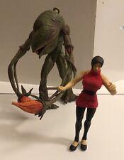 Resident Evil 2 Platnium Ada Wong & Ivy Figures Toy Biz 1998