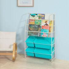 Sobuy Librería para guardar juguetes libros Estantería organizador Kmb07-b es