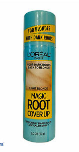 Loreal Paris Magic Root Cover Up Light To Medium Blonde Temporary Gray Concealer