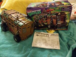 Ninja Turtles TMNT Playmates Shellraiser Vehicle 2012 Open Box incomplete