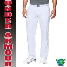 Under Armour Men's Size 42W X 30L Match Play Golf Pants Black 1248089 White