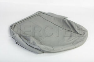 Genuine Mercedes S W221 Front Driver Seat Bottom Cover Grey A2219100746 7H91