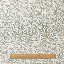 William Morris Willow Bough Green 100 Cotton Fabric by The Half Metre