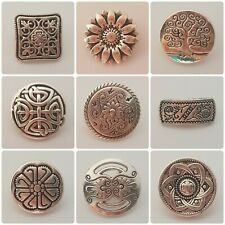 2b2259 27mm Buttons Buttons shank buttons Metal Flower Buttons