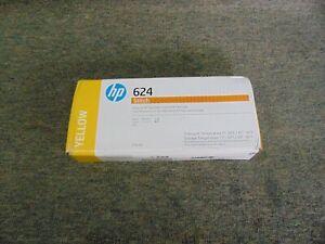 2LL56A New Genuine HP 624 Yellow Ink Cartridge 775ml Stitch S300 Printer 02/2022