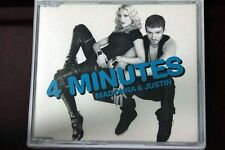 Madonna & Justin Timberlake - 4 (Four) Minutes | CD single | 2008