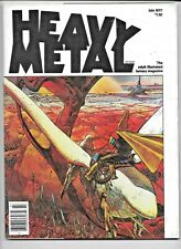 Heavy Metal Vol 1 #4 July 1977 Newsstand Ed Corben Moebius Druillet Arzach FN/VF