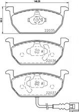 Textar Bremsbelagsatz VA Bremse Teves für diverse AUDI/SEAT/Skoda/VW 2203501