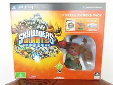 SKYLANDERS GIANTS PS3, PORTAL OWNERS PACK W/ TREE REX, UNOPENED MINT IN BOX.