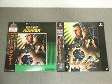 Blade Runner - Set of 2 - Laser Disc - OBI JAPAN LD Director's Cut
