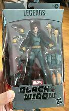 "Marvel Legends 6"" Black Widow Walmart Exclusive Gray Grey Suit Natasha Romanov"