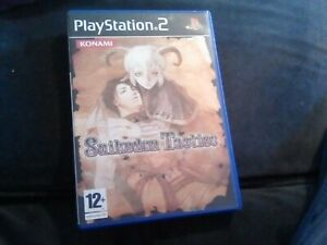 PS2 - SUIKODEN TACTICS COMPLETE PAL UK BOXED GAME
