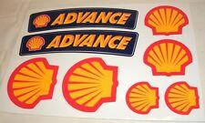 Vintage Shell Oil Decal Set Fender Shroud Stickers KTM Husqvarna MX Enduro GNCC
