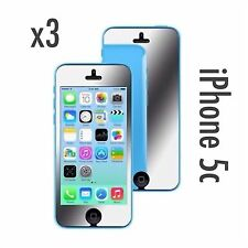 Iphone 5c Mirror Screen Protector & Cleaning Cloth x 3