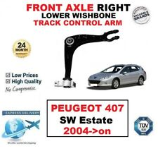 FRONT AXLE RIGHT LOWER WISHBONE CONTROL ARM for PEUGEOT 407 SW Estate 2004->on