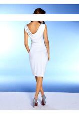 NEU Sommer-Rückendekollete-Kleid von Heine, weiß, Gr. 36