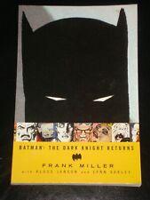 BATMAN : THE DARK KNIGHT RETURNS by Frank Miller (1997 Paperback Graphic Novel)