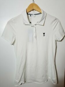 1 NWT UNDER ARMOUR WOMEN'S POLO, SIZE: SMALL, COLOR: WHITE (J81)