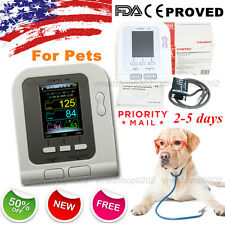 2019 Digital Veterinary Blood Pressure Monitor NIBP cuff,Dog/Cat/Pets,US seller