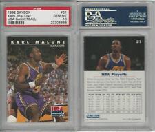 1992 Skybox Basketball, #51 Karl Malone, Utah Jazz, PSA 10 Gem