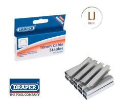 Draper 13961 6210 10mm Cable Wiring Staples Box Of 1000 for 23410 Tracker