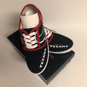 The Texans Women's Size 6.5 Sneakers Tennis Shoes  Football Team NFL lace up