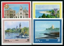 Italy 2018 MNH Tourism Pineto Grado 4v S/A Set Landscapes Architecture Stamps