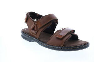 Clarks Malone Shore 26148104 Mens Brown Leather Strap Sport Sandals Shoes