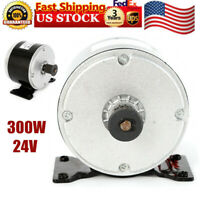 300 Watt 24V DC electric motor w base MY1016 Brushed Motor f scooter go-kart NEW