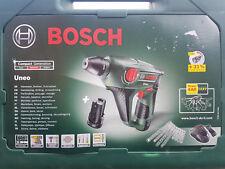 Bosch Akku-Bohrhammer Uneo 10,8V im Koffer mit 2x Li Akkus + Zubehör 0603984008