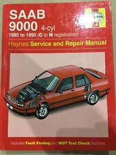 Saab 9000 1985 - 1995 Haynes service and repair manual