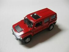 1:38 SCALE WELLY HUMMER H3 DIECAST PULLBACK W/O BOX