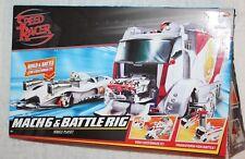 2007 Mattel Hot Wheels Speed Mach  & Battle Rig Vehicle Playset
