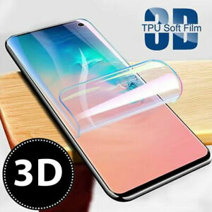 For Samsung Galaxy S20 S10 S8 S9 Plus 5G TPU Film Screen Protector COVER