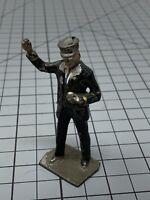 """J Hill & Co """"Lionel"""" Lead Figure Prewar England copy right Conductor Train"""