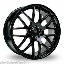 "ALLOY WHEELS X 4 18"" BLACK DTM FOR LEXUS ES GS IS LS RC RX MODELS MAZDA 5 6"