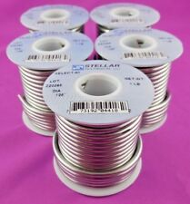 5 Pack of High Quality 60/40 Stained Glass Solder by Stellar Technical Solder