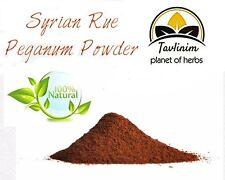 steppenraute,gemahlen,800g,syrian rue seeds,ground powder,peganum,harmala,wild