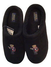 NWT (Other) POLO RALPH LAUREN Black Cocoa Bear Slippers LIMITED EDITION US Sz 8